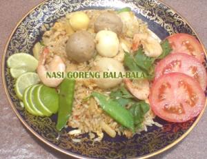 Nasi Goreng Bala-Bala