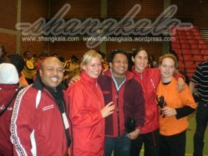 Pelatih Tadjimalela di Persilatan Internasional