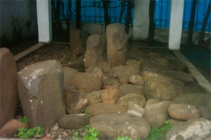 Petilasan empat kerabat dekat prabu Siliwangi di Batu Tulis Bogor