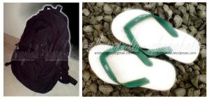 sandal jepit - backpack - shangkala