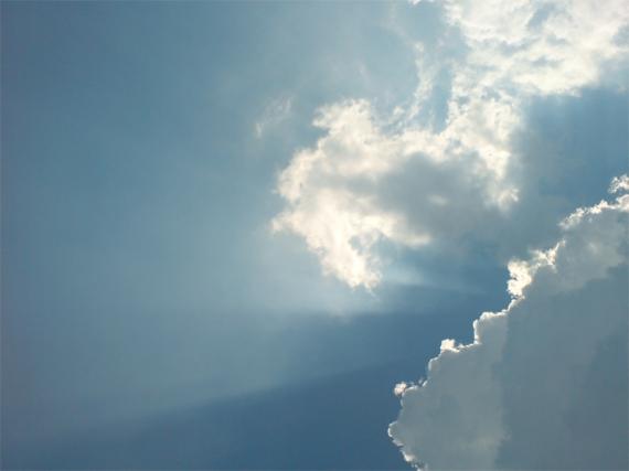 langit terang