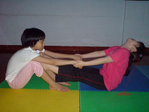 orbs at yoga class1
