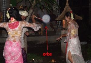 Orbs @ Bali wedding