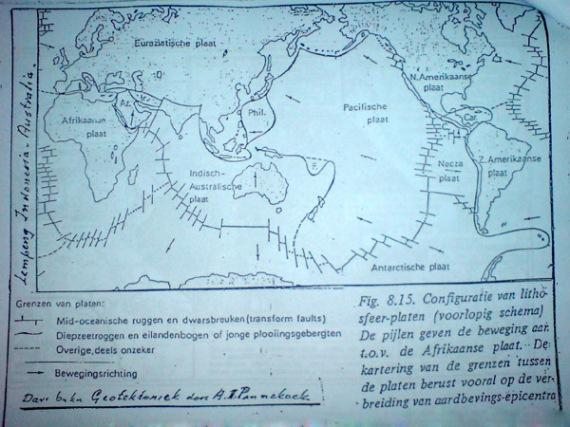 the world ocean floor