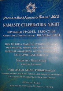 namaste night celebration