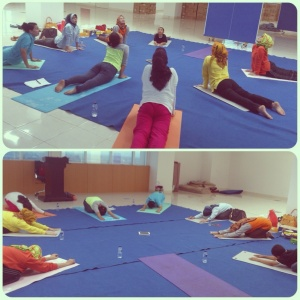 Group yoga BSD