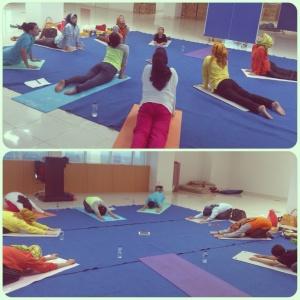 Group yoga BSD