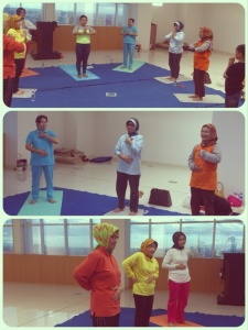 Yoga group BSD